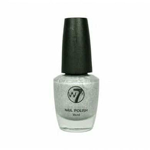W7 Nail Polish Earthquake Crackle Silver