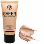 W7 Sheer Foundation Smooth Lasting Finish Natural Beige