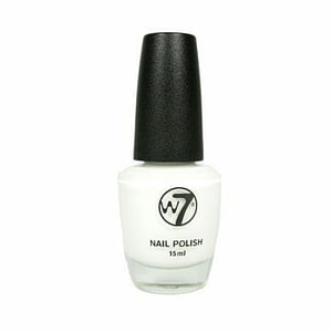 W7 Nail Polish Earthquake Crackle White