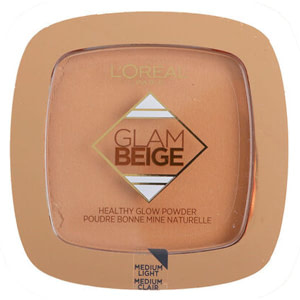 L'Oreal Glam Beige Healthy Glow Powder 30 Medium Light