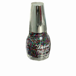 Laval Crystal Finish Nail Polish Multi Glitter