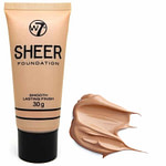 W7 Sheer Foundation Smooth Lasting Finish Biscuit