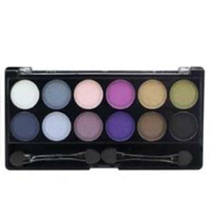 City Color 12 Eyeshadow Palette Smokey
