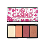 W7 Casino Blush, Highlight and Contour