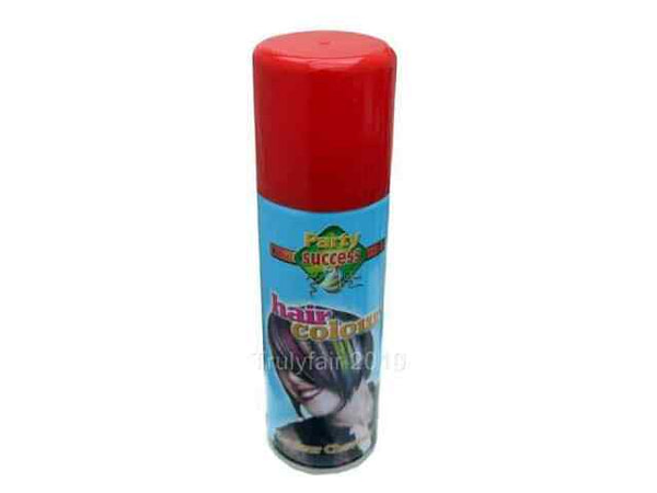 Party Success Temporary Hair Spray Red