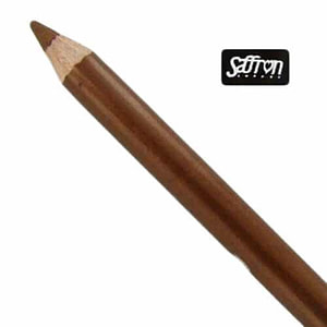 saffron soft kohl golden chrome eyeliner pencil