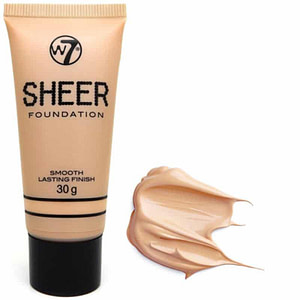 W7 Sheer Foundation Smooth Lasting Finish Sand