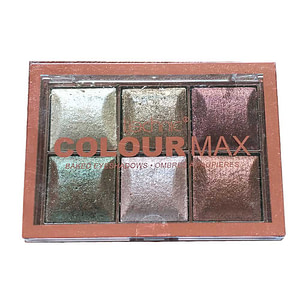 technic colour max baked eyeshadow palette cappuccino