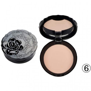 Lameila Pressed Powder 06 Medium Compact With Mirror