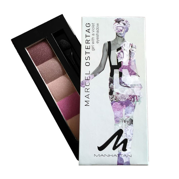 Manhattan Eyeshadow Marcel Ostertag Girl With A Violet