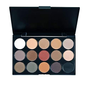 Colour Zone 15 Colours Matte Eyeshadow Palette 2