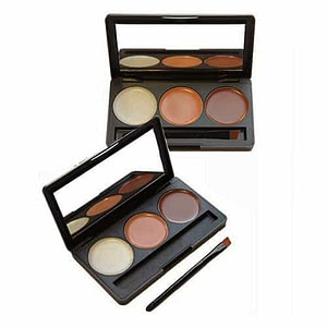Colour Zone 3 Colour Concealer Contour Palette Medium To Dark