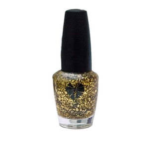 High Maintenance Nail Polish 70 Gold Glitter