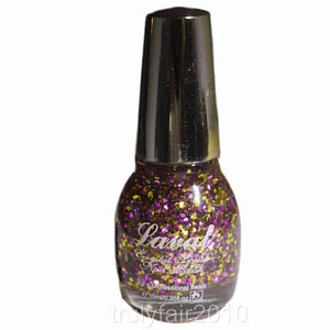 Laval Crystal Finish Nail Polish Glitter Ball
