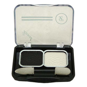 Laval Mixed Doubles Eyeshadow Black White