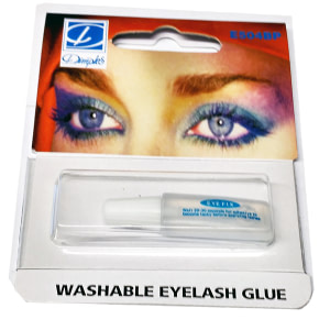 dimples washable eyelash glue