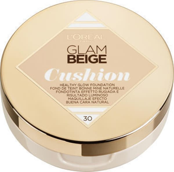 L'Oreal Glam Beige Cushion Foundation 30 Medium Light