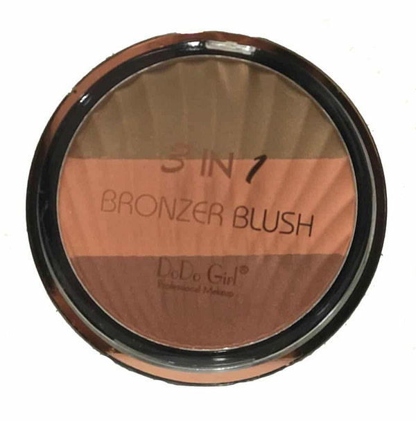 DoDo Girl 3 in 1 Bronzer Blush 4